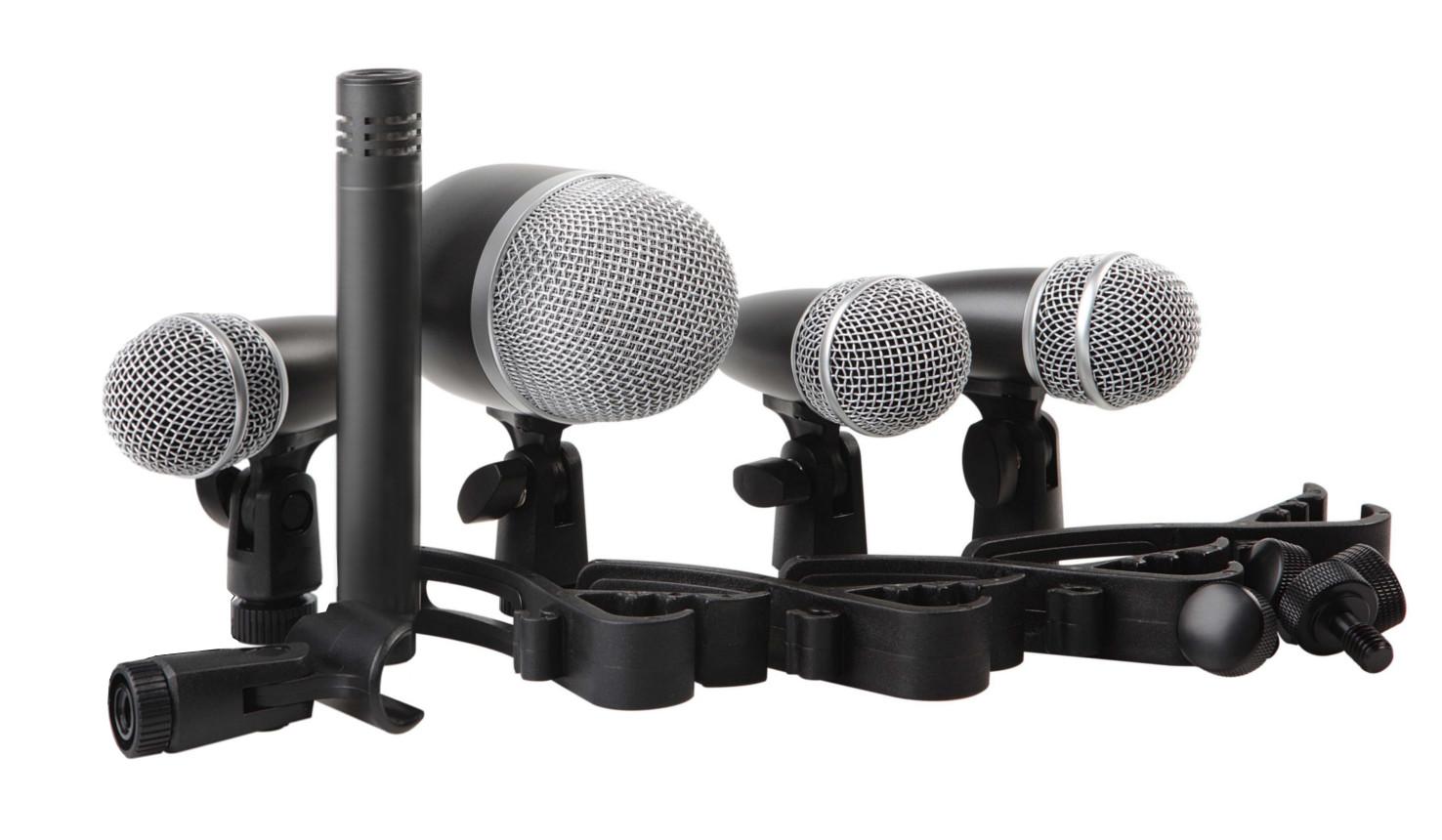PROEL DMH5XL - Set di 5 microfoni per batteria - Voce - Audio Microfoni - Microfoni Live