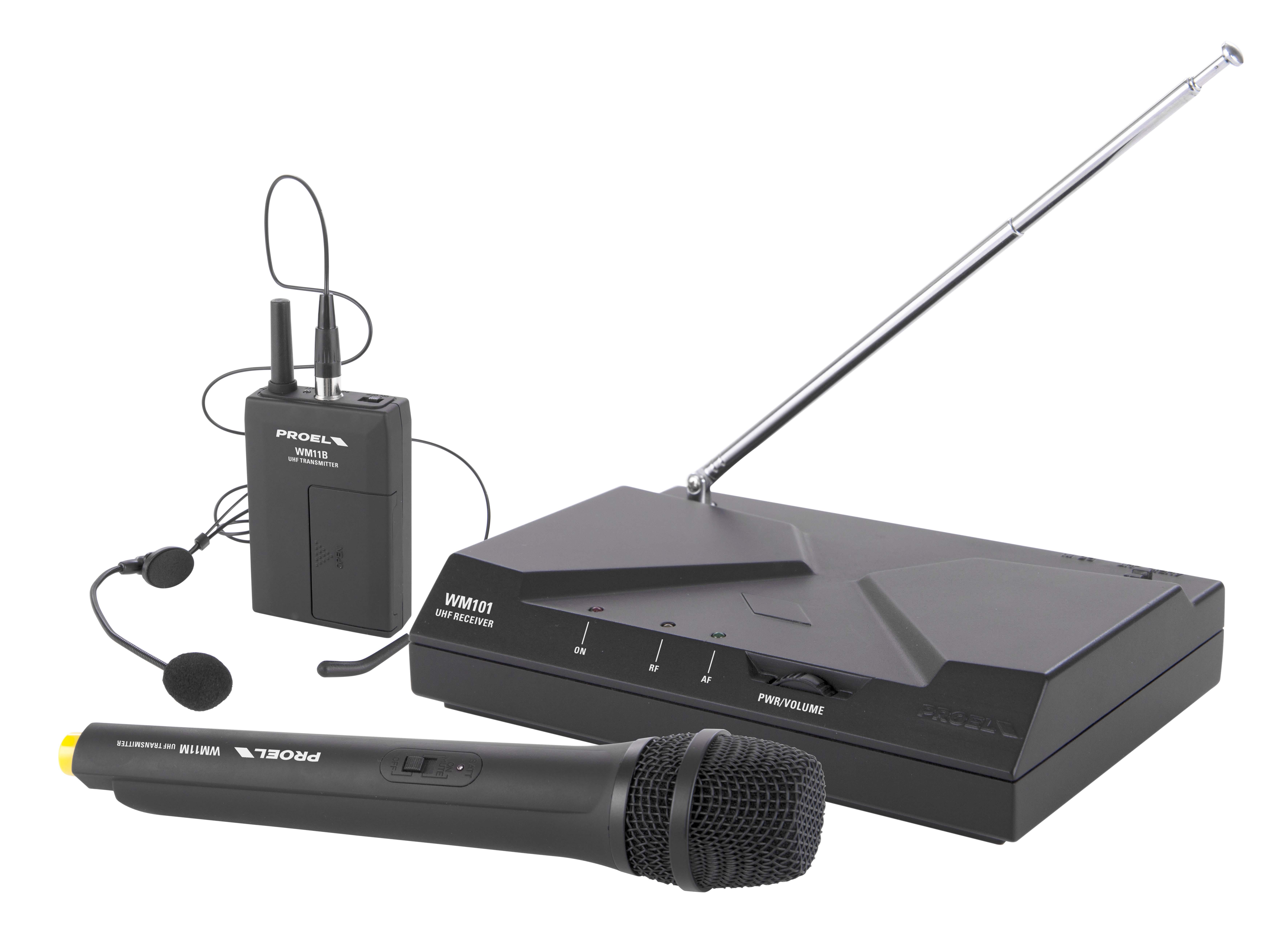 PROEL WM101KIT - UHF Wireless Microphone