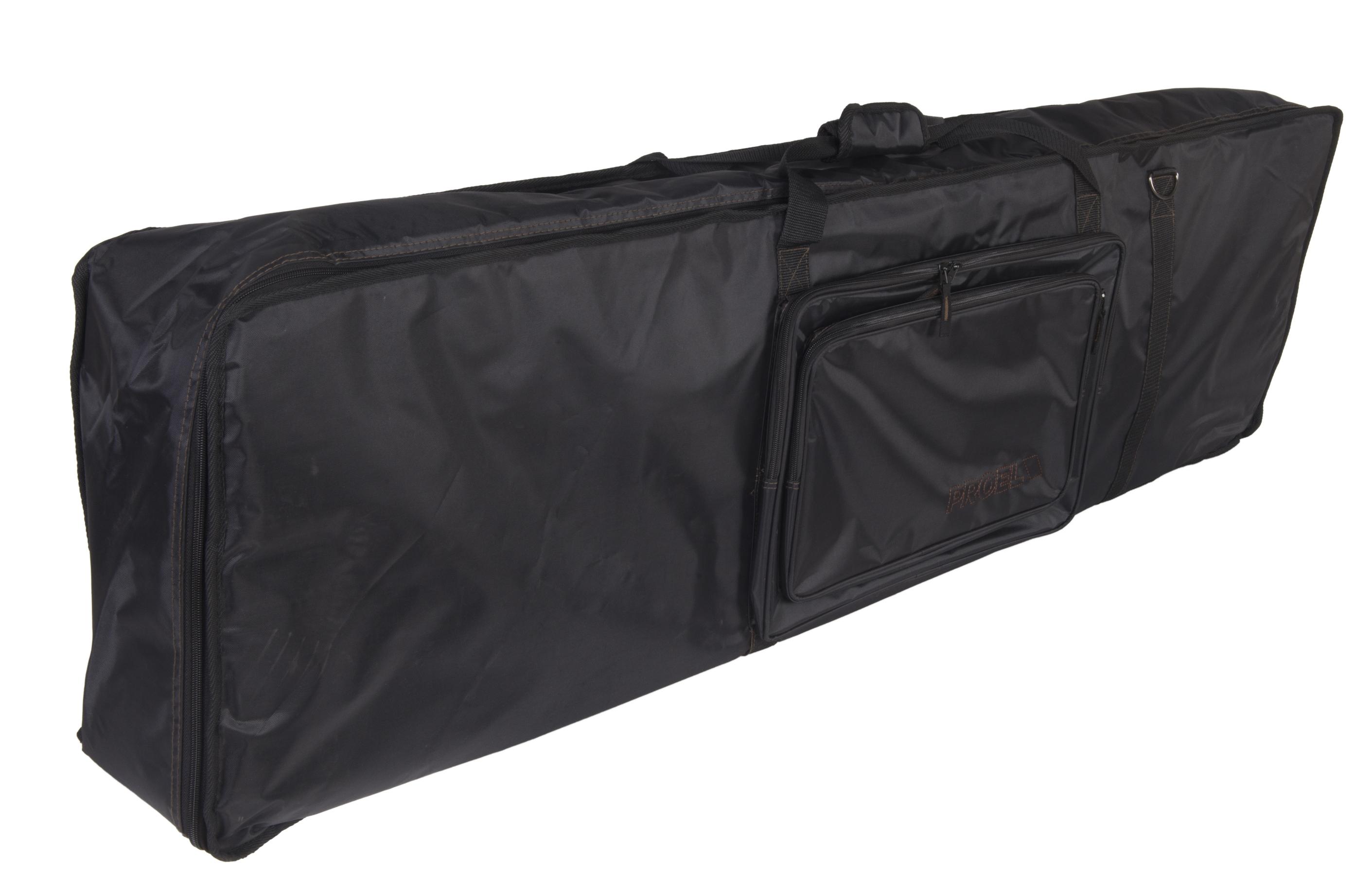 PROEL BAG938PN - Borsa per tastiera in robusto nylon 420D antistrappo. Dimensioni interne: 1430 (larghezza) x 340 (profondit�) x 140 (altezza) mm. Imbottitura 20 mm. Disponibile in colore nero.