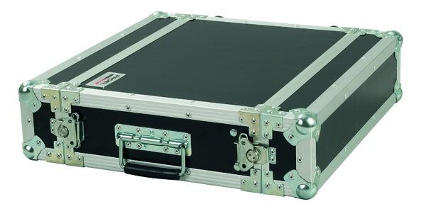 PROEL CR122BLKM - Flight case 2U a rack 19, profondo 25cm.