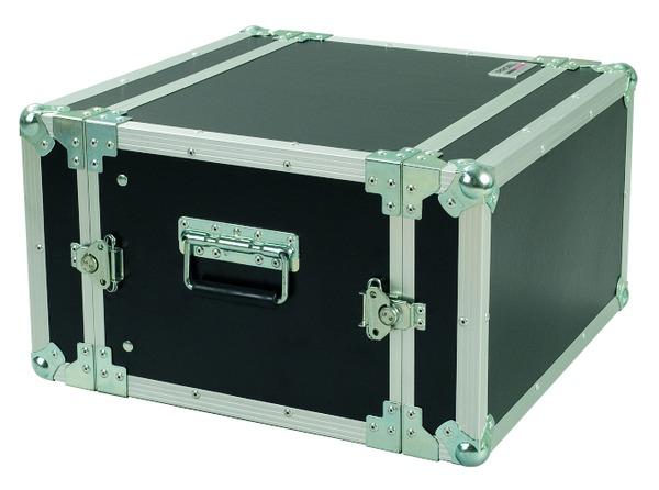 PROEL CR106BLKM - Flight case 6U a rack 19, profondo 33cm.