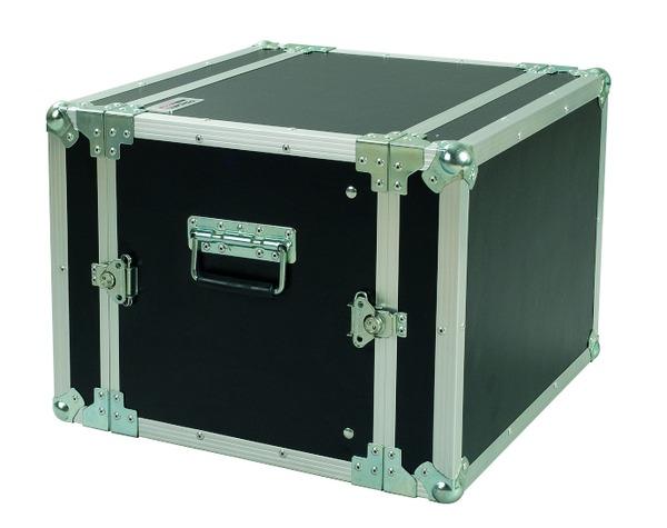 PROEL CR108BLKM - Flight case 8U a rack 19', profondit� utile corpo 33cm.