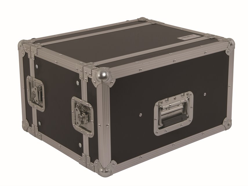 PROEL CR156BLKM - CUST RACK 6U 2COP CORPO 25CM - Voce - Audio Accessori - Borse e Flight Case