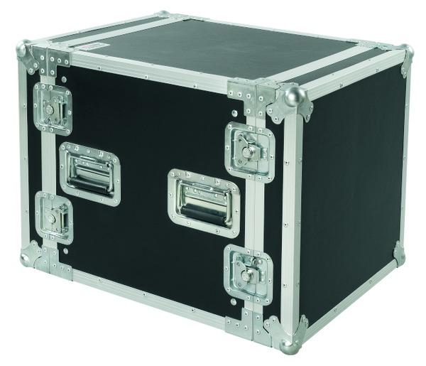 PROEL CR210BLKM - Flight case professionale 10U a rack 19, profondo 45cm. - Voce - Audio Accessori - Borse e Flight Case