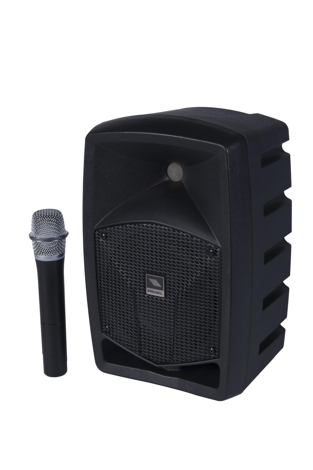 PROEL FREE6LT - Sistema combinato alimentato a batteria - Voce - Audio Casse e Monitor - Diffusori Attivi