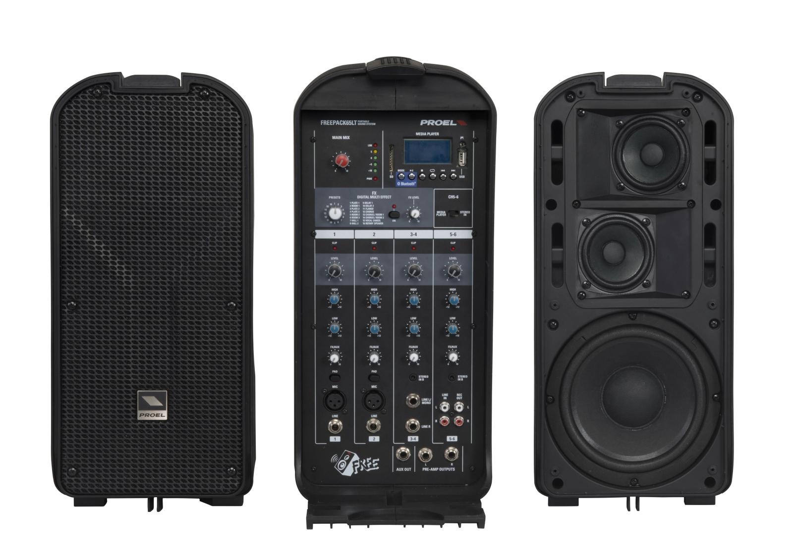 PROEL FREEPACK65LT - Sistema audio completo portatile