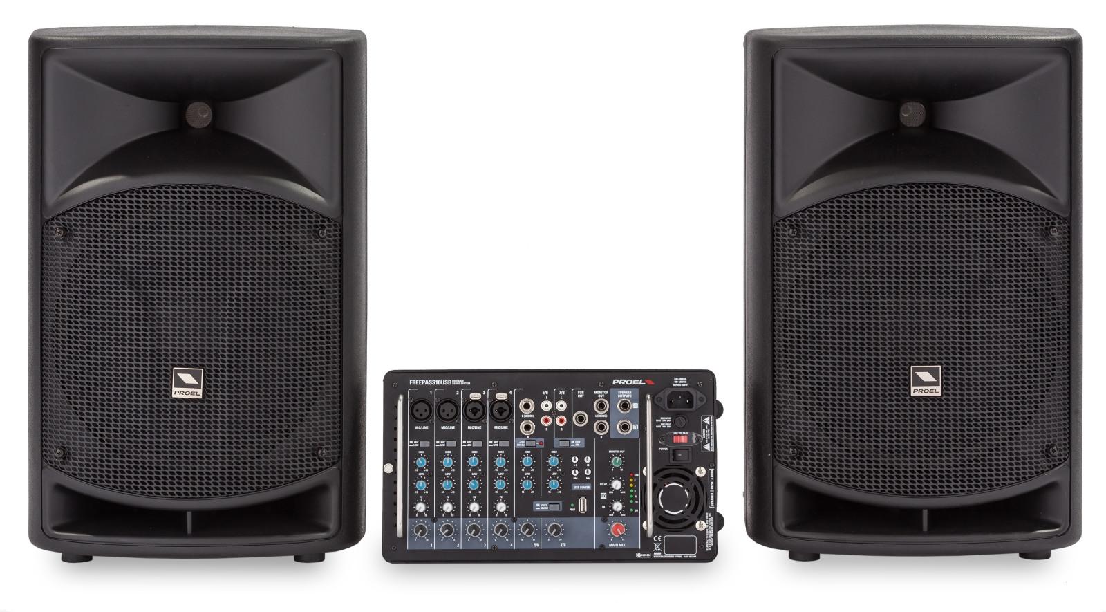 PROEL FREEPASS10USB - Sistema audio completo
