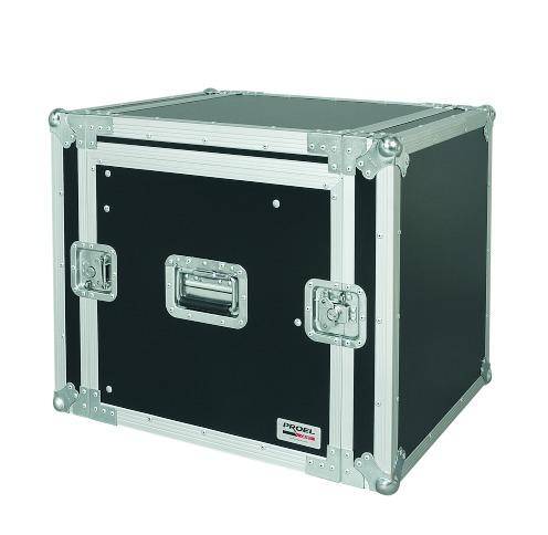PROEL SA10BLKM - Custodia combo 19 10U con portamixer 10u regolabile in altezza, profonda 45cm. - Voce - Audio Accessori - Borse e Flight Case
