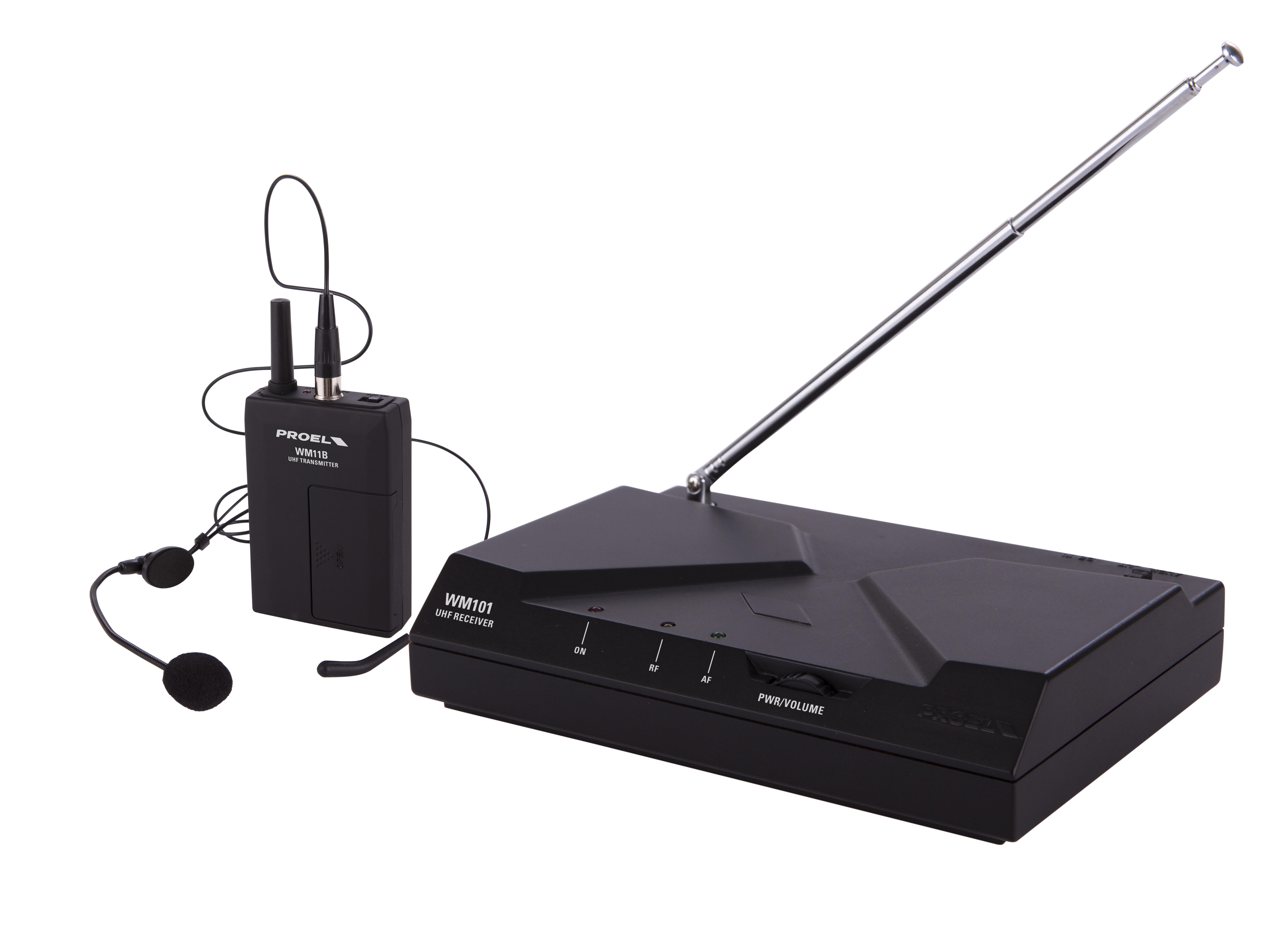 PROEL WM101H - UHF Wireless Microphone