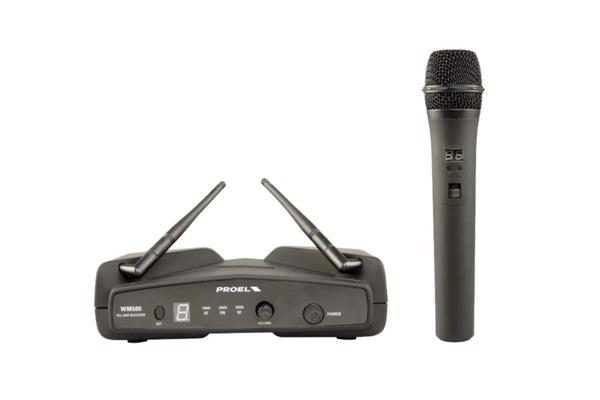 PROEL WM600M - PLL UHF Wireless Microphone System